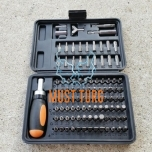 Screwdriver set with ratchet 101-piece