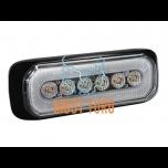 Pindvilkur- märgutuli LED kollane/punane 12-24V, 14 vilkumisrežiimi, ECE R65/R10, IPX8
