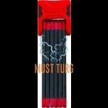 Lülilukk Abus Bordo 6000, 90cm, punane