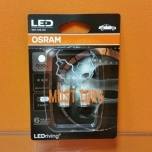 Pirn 5W led ilma soklita 12V 1W W2,1x9,5d Cool White Osram 6000K 2tk
