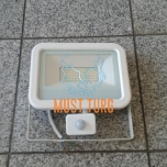 Led floodlight with motion sensor white 50W 4000lm 4000K