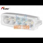 LED-töötuli, 9-36V, 25W, 2250lm, CE, 10R, RFI/EMC, IP68, valge, SAE