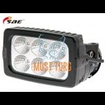 LED work light 9-36V 30W 2988lm RFI / EMC certification IP68 SAE