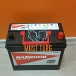 Car battery 45Ah 360A 234X127X220MM -/+ Hankook