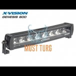 High beam LED X-VISION Genesis 600 9-30V 120W Ref.30 8000lm