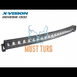 High beam LED X-VISION Genesis 1300 9-30V 300W Ref.45 18000lm / 9000lm