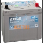 Car battery Exide Premium 65Ah 580A 230x173x222