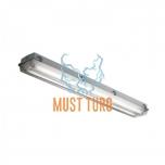 Tööstusvalgusti juhtmestatud T8 120cm led torudele max 2x36W