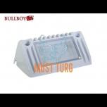 Töötuli-kohtvalgusti LED 12-24V, 9W, 770lm, 5500K IP68, valge Bullboy