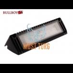 Töötuli-kohtvalgusti LED 12-24V, 18W, 1500lm, 5500K, IP68, must Bullboy