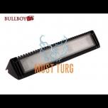 Töötuli-kohtvalgusti LED 12-24V, 27W, 2300lm, 5500K, IP68, must Bullboy