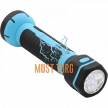 Taskulamp/töövalgusti magnetiga, 6+30Led, teleskoop, laetav