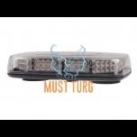 Vilkuripaneel magnetiga LED 275x50x160mm 12-24V kollane, ECE R65, R10