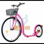 Tõukeratas Kickbike City G4 roosa