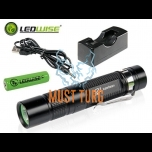 Flashlight Ledwise Pro 4 with battery, 850lm