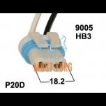 Pistik pirnidele HB3 9005 H10 12363 P20D PY20D