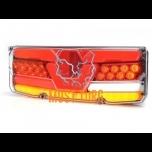 Tagatuli LED vasak 12-24V EC EMC E20 IP56 350x131x81mm