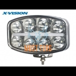 High beam LED X-VISION QUADRATOR 10-30V 64W Ref.20 6500lm