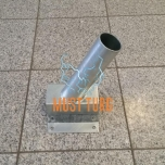 Tänavavalgusti kinnitus seinale 25⁰ Ø60mm tsingitud