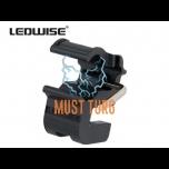 Kiivrikinnitus taskulampidele Ledwise Legend ja SP Ecokit mudelitele