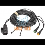 Trailer wiring 13-pin 6m