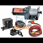 ATV electric winch 12V 907kg, steel wire 15mxø4mm Rock