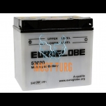 Motorcycle battery 28Ah (- / +) 12V 186x129x172mm