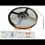 Led valgusriba soe valge valgus 12V 300 ledi IP65 5000x8x2.5mm