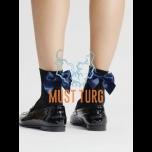 Socks Fiore Fides 60den black with blue tie