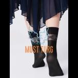 Socks Fiore Italiana 40den black