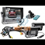 "Parking camera kit with 7 ""monitor and 2 cameras 013"