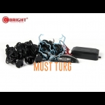 Parking sensors kit color black