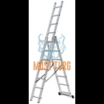 Extension ladder 3x7 with height 424cm