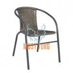 Garden chair Bistro color gray