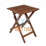 Puidust laud kokkupandav Rouen 50x50xH68cm