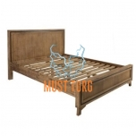Bed Richard wood 160x200 without mattress
