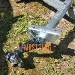 Trailer axle VG7-L 750KG B1400 4X100 KNOTT