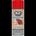Kuumakindel värv pidurisadulatele K2 punane +260°C 400ml
