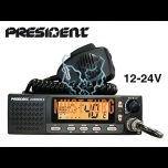 CB radio President Johnson II 40 channels AM / FM power 4W