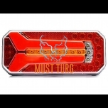 Tail light LED right / left 12-24V EC EMC E20 IP66 / 68 236x104x40mm