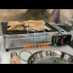 Portable gas grill Smart Plancha Kemper