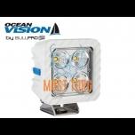 Work light LED 60W 12-48V 5500lm EMC CISPR 25 Class 5 IP68 Ocean Vision