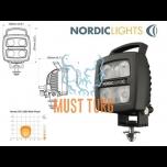 Töötuli Led 12-24V 17W EMC-sertifikaadiga ADR- sert. Nordic Lights