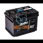 Car Battery 58Ah 500A 241X175X190MM - / + Autopart