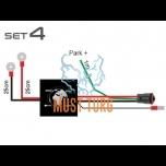 Lisatule juhtmetekomplekt parktulega CAN 12V 1x200W 24V 1x400W Deutsch 3-klemmiga DT -pistik SET4