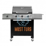 Gas grill Rebel Hombre 3 10.5KW