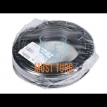 Trailer cable 7x1.5mm² black PVC insulated 50m