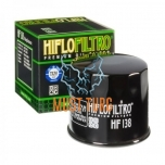 Moto oil filter Suzuki Arctic Cat Hiflo HF138