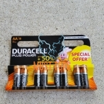 Batteries AA 1.5V MN1500 8pcs duracell Plus Power