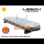 Vilkuripaneel Led 1092x331x59mm 12-24V ECE R65 Legion kollane